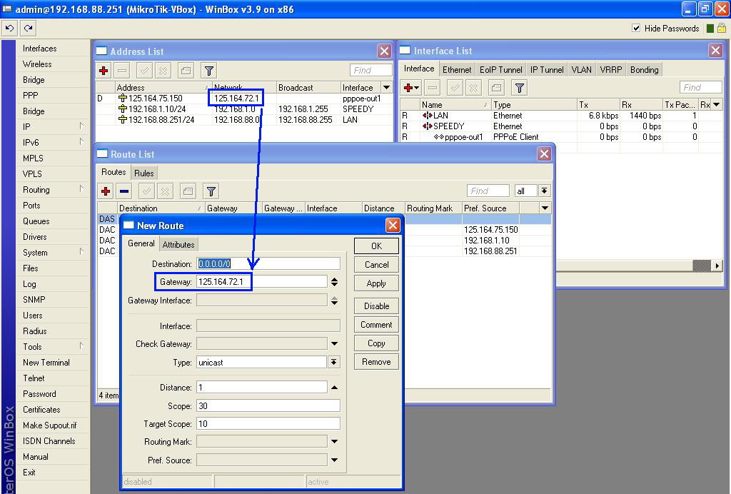 Step By Step Installasi Router Mikrotik Dgn Adsl Speedy