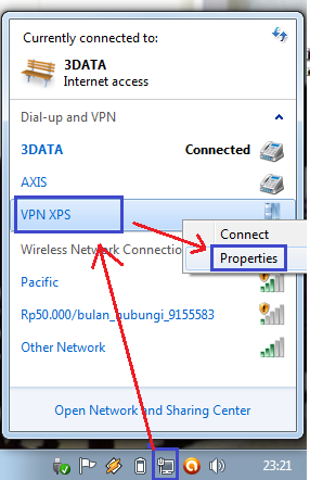 how to change ip address in xp step by step