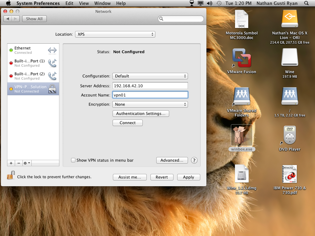 how to make a vpn server on mac