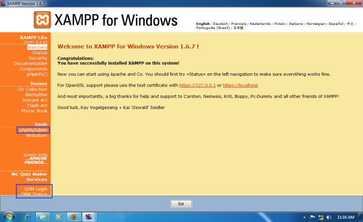 Install-Quiz-Result-Management-for-Win-7-x64-018
