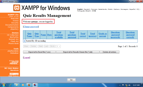 Install-Quiz-Result-Management-for-Win-7-x64-020