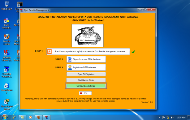 Install-Quiz-Result-Management-for-Win-7-x64-022