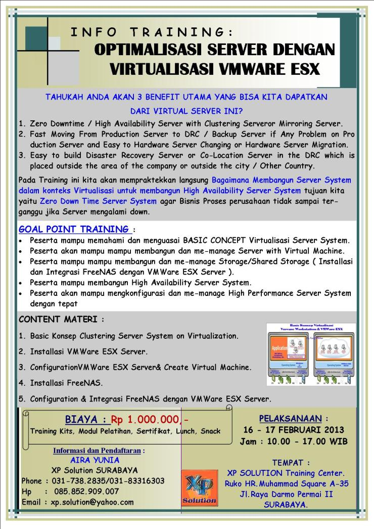 Brosur-Training-Optimalisasi-Server-System-Dengan-Virtualisasi-VMWARE-VSPHERE-ESX-16-17-Februari-2013