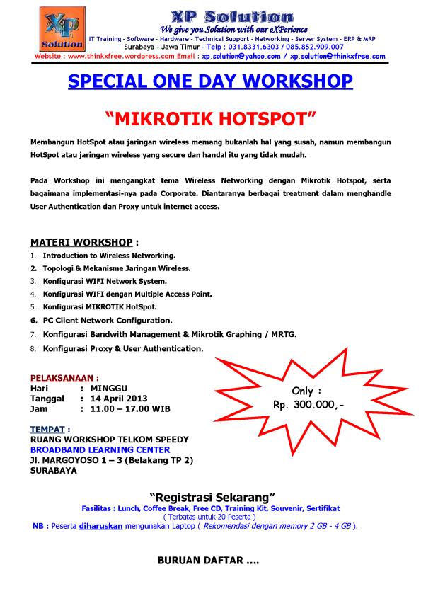 Special-One-Day-Workshop-Mikrotik-HOTSPOT-April-2013