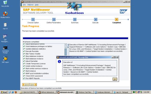 Install-SAP-on-W2K3-x64-System-Copy-035-Install-SAP-Success