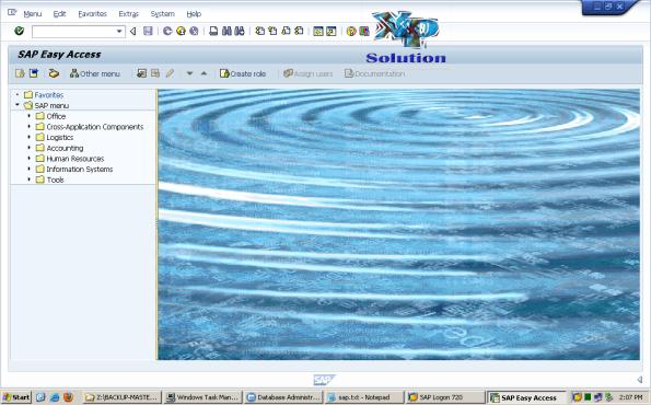 Install-SAP-on-W2K3-x64-System-Copy-036-Success-Login-SAP-GUI