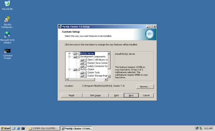 MySQL-Cluster-W2K3-005
