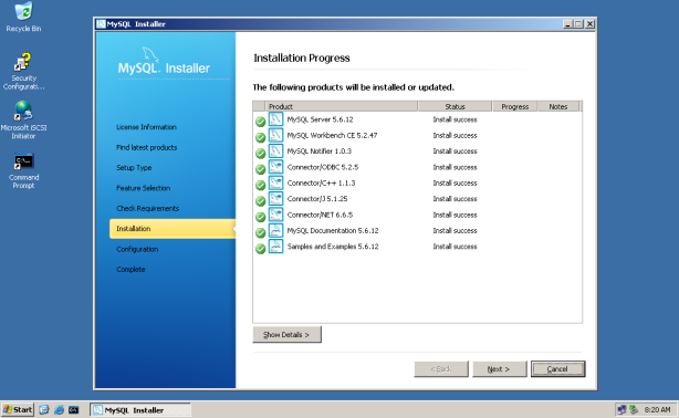 MySQL-Cluster-W2K3-032