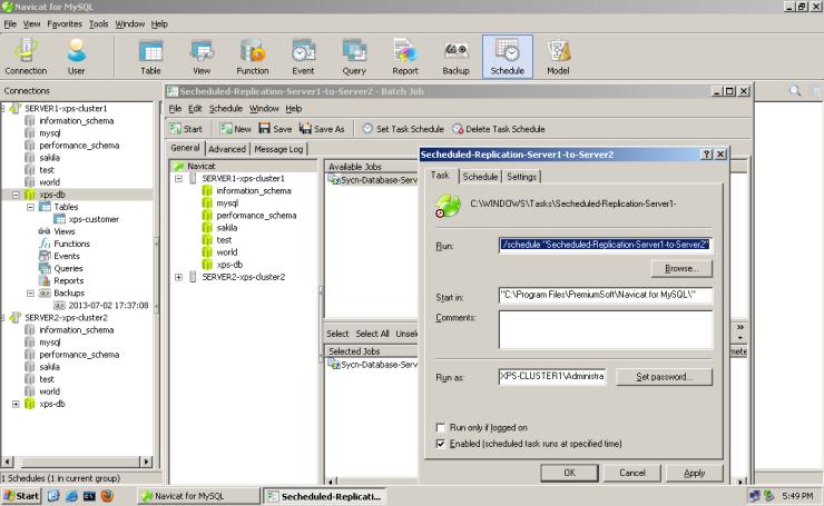 MySQL-Navicat-Database-Replication-011-secheduled-replication