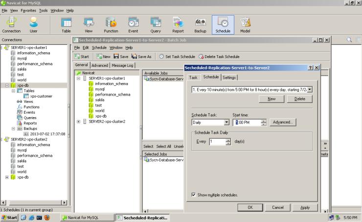 MySQL-Navicat-Database-Replication-012-secheduled-replication