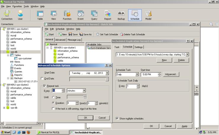 MySQL-Navicat-Database-Replication-013-secheduled-replication