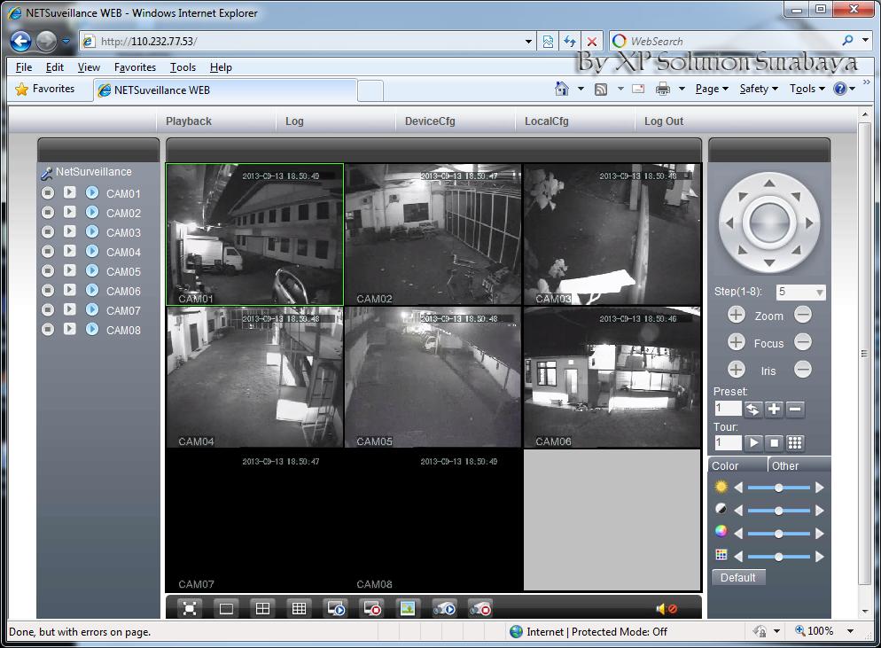 Cara mengakses cctv dari internet menggunakan router for Web tv camera deputati