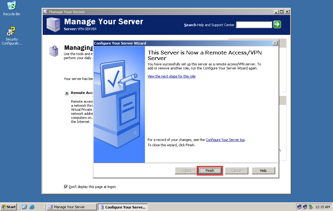 Get IT Done: Provide VPN services using Windows Server 2003