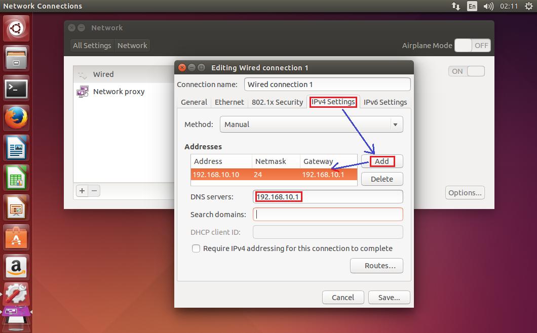 Установка ubuntu server 1204 lts - прокси сервер для менеджера пакетов