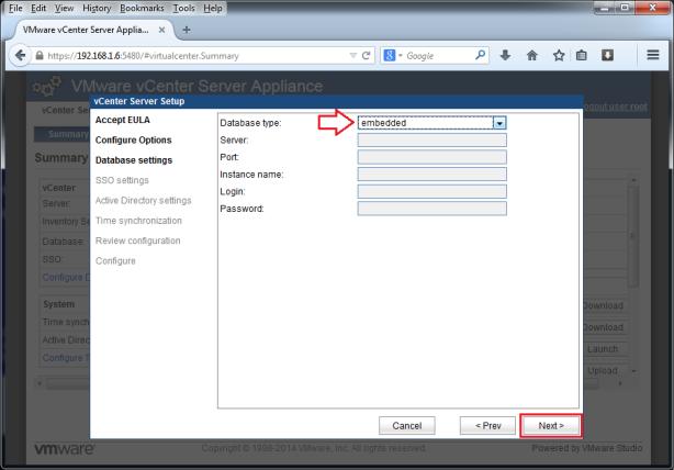 VMware-vCenter-Server-Appliance-5.5-005