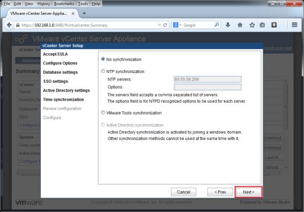 VMware-vCenter-Server-Appliance-5.5-008