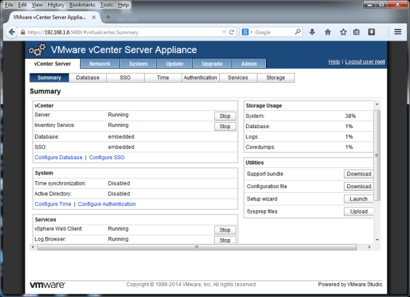 VMware-vCenter-Server-Appliance-5.5-012