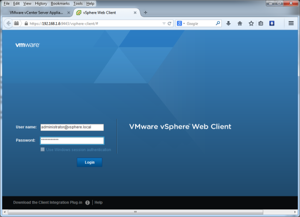 VMware-vCenter-Server-Appliance-5.5-021