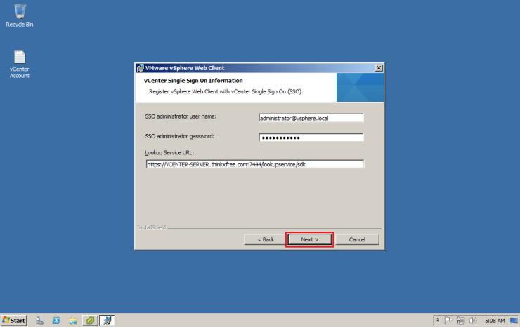 02-VMWare-vCenter-5.5-vSphere-Web-Client-Install-007