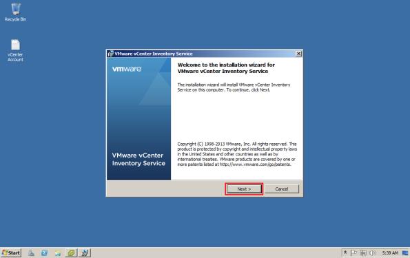 03-VMWare-vCenter-5.5-Inventory-Service-Install-003