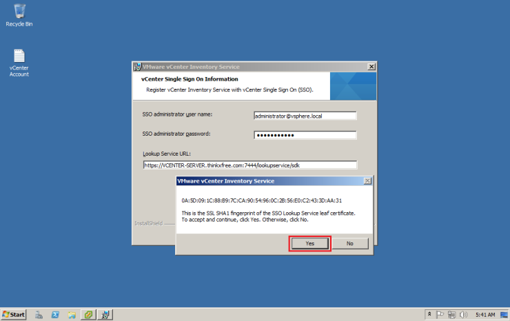 03-VMWare-vCenter-5.5-Inventory-Service-Install-010