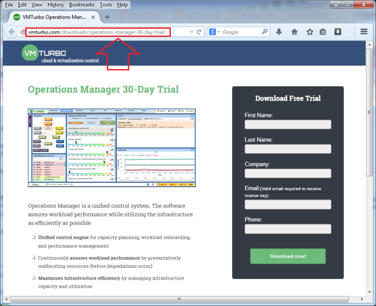 Download-VMTurbo-30-Day-Trial