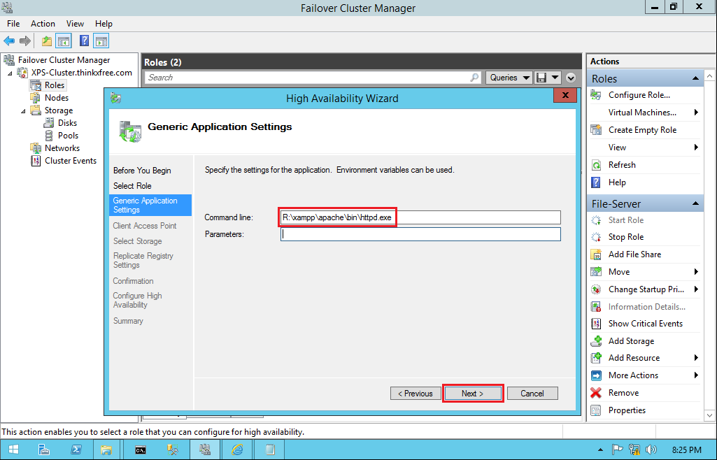 mysql for windows server 2012