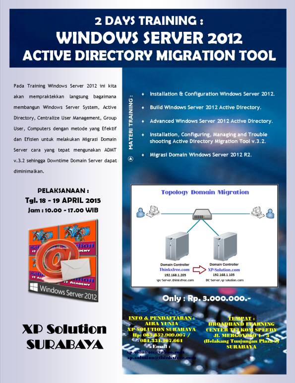Brosur-Windows-Server-2012-Active-Directory-Migration-Tool--18-19-April-2015