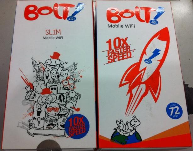 Modem Wifi Router Bolt 4G Huawei E5372s